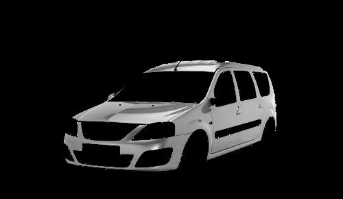 Цвета кузова Lada Largus